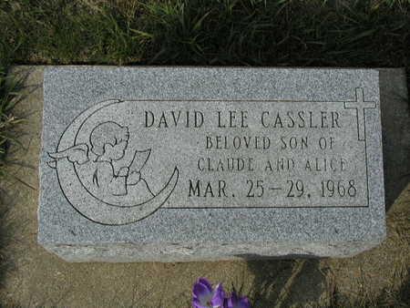 CASSLER, DAVID - Adair County, Iowa | DAVID CASSLER