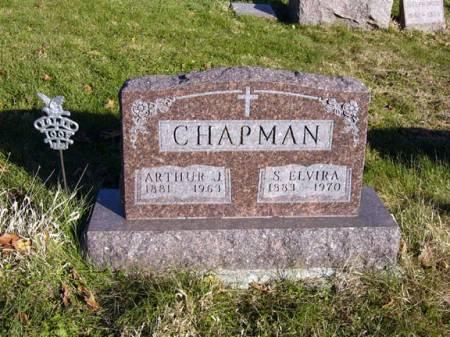 CHAPMAN, S. ELVIRA - Adair County, Iowa | S. ELVIRA CHAPMAN