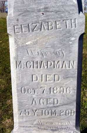 CHAPMAN, ELIZABETH - Adair County, Iowa | ELIZABETH CHAPMAN