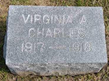 CHARLES, VIRGINIA A. - Adair County, Iowa | VIRGINIA A. CHARLES