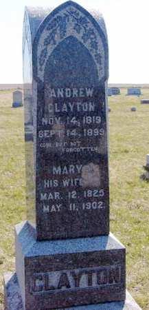 CLAYTON, ANDREW - Adair County, Iowa | ANDREW CLAYTON