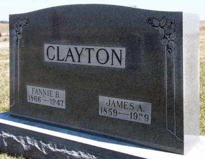 CLAYTON, FANNIE B. - Adair County, Iowa | FANNIE B. CLAYTON
