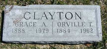 CLAYTON, GRACE A. - Adair County, Iowa | GRACE A. CLAYTON