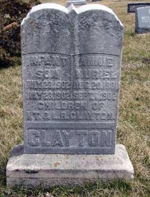 CLAYTON, ANNIE MURIEL - Adair County, Iowa | ANNIE MURIEL CLAYTON