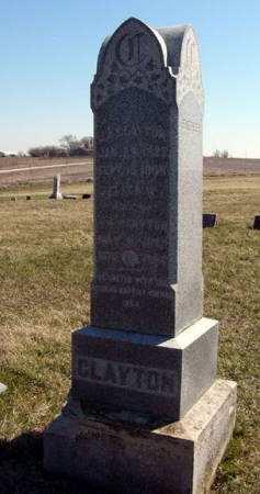 CLAYTON, ELIZA H. - Adair County, Iowa   ELIZA H. CLAYTON