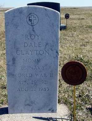CLAYTON, ROY DALE - Adair County, Iowa   ROY DALE CLAYTON