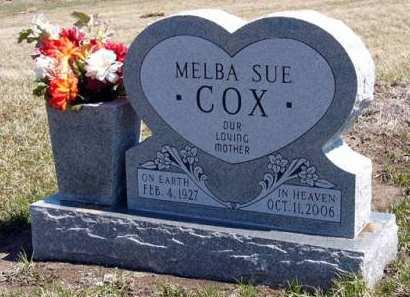 COX, MELBA SUE - Adair County, Iowa | MELBA SUE COX
