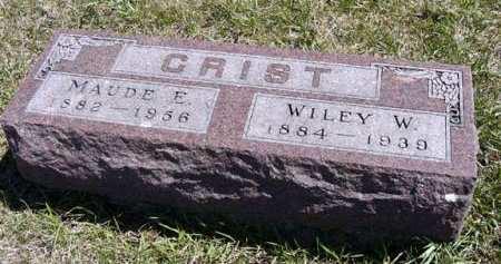 CRIST, WILEY W. - Adair County, Iowa | WILEY W. CRIST