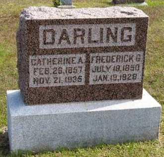 DARLING, FREDERICK G. - Adair County, Iowa | FREDERICK G. DARLING