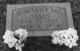 DAVIS, HOWARD EARL - Adair County, Iowa | HOWARD EARL DAVIS