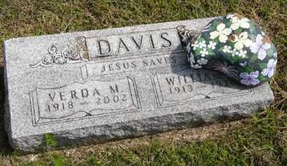 DAVIS, WILLIAM R. - Adair County, Iowa | WILLIAM R. DAVIS