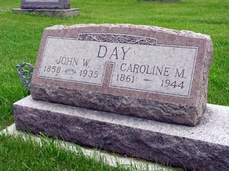 DAY, JOHN W - Adair County, Iowa   JOHN W DAY