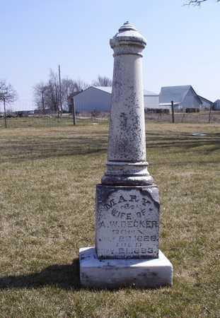 DECKER, MARY - Adair County, Iowa | MARY DECKER