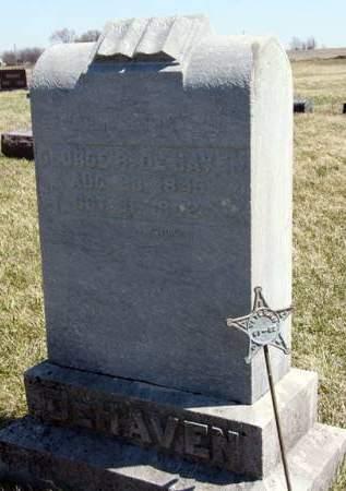DEHAVEN, GEORGE R. - Adair County, Iowa   GEORGE R. DEHAVEN
