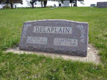 DELAPLAIN, EDITH F - Adair County, Iowa | EDITH F DELAPLAIN