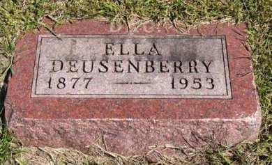 DEUSENBERRY, ELLA - Adair County, Iowa | ELLA DEUSENBERRY