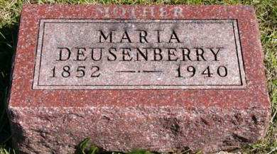 DEUSENBERRY, MARIA - Adair County, Iowa | MARIA DEUSENBERRY