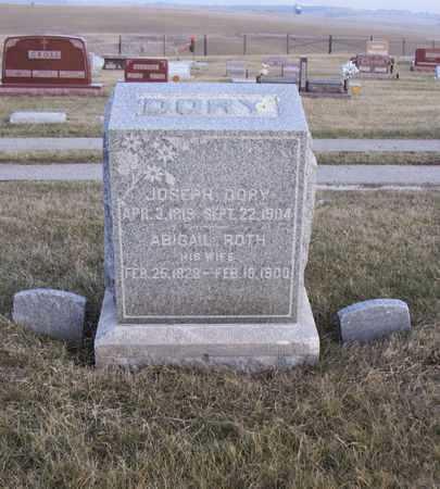 DORY, JOSEPH - Adair County, Iowa | JOSEPH DORY