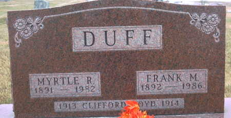 DUFF, CLIFFORD BOYD - Adair County, Iowa | CLIFFORD BOYD DUFF