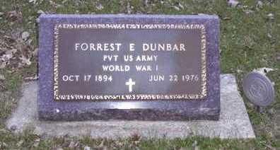 DUNBAR, FORREST E. - Adair County, Iowa | FORREST E. DUNBAR