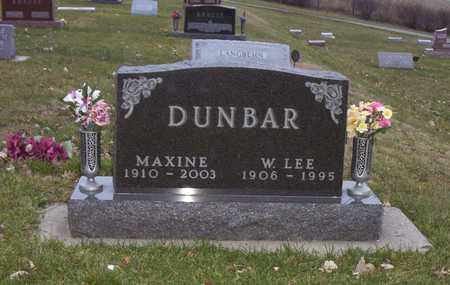 DUNBAR, W. LEE - Adair County, Iowa | W. LEE DUNBAR