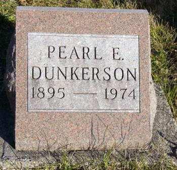 DUNKERSON, PEARL E. - Adair County, Iowa | PEARL E. DUNKERSON