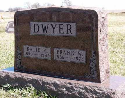 DWYER, FRANK W. - Adair County, Iowa | FRANK W. DWYER