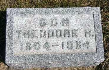 DWYER, THEODORE R. - Adair County, Iowa | THEODORE R. DWYER