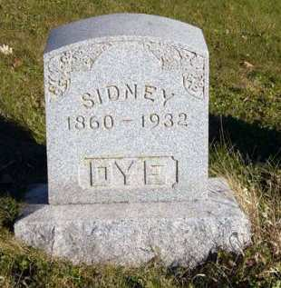 DYE, SIDNEY - Adair County, Iowa | SIDNEY DYE