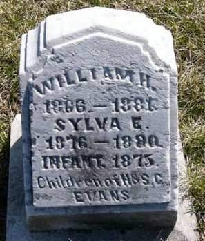 EVANS, WILLIAM H. - Adair County, Iowa | WILLIAM H. EVANS