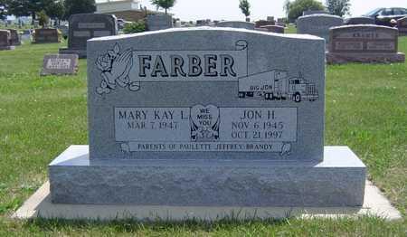 FARBER, JON HENRY - Adair County, Iowa   JON HENRY FARBER