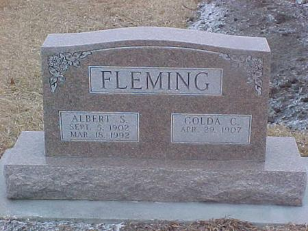 WILLIAMS FLEMING, GOLDA - Adair County, Iowa | GOLDA WILLIAMS FLEMING