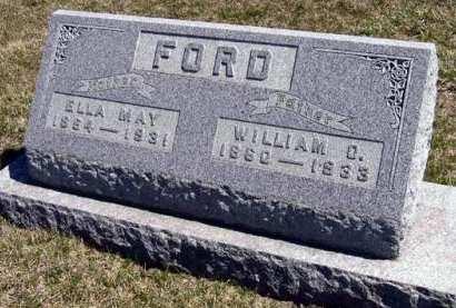 FORD, ELLA MAY - Adair County, Iowa   ELLA MAY FORD