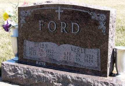 RATER FORD, HELEN - Adair County, Iowa | HELEN RATER FORD