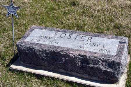 FOSTER, JOHN E. - Adair County, Iowa | JOHN E. FOSTER