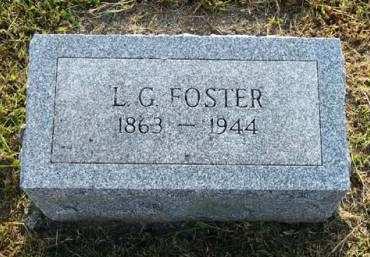 FOSTER, L.G. - Adair County, Iowa | L.G. FOSTER