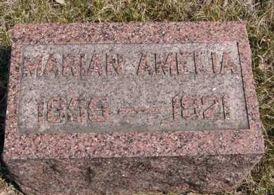 FULLER, MARIAN AMELIA - Adair County, Iowa | MARIAN AMELIA FULLER