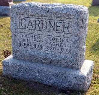 GARDNER, AGNES - Adair County, Iowa | AGNES GARDNER