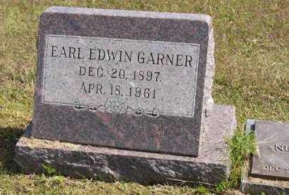 GARNER, EARL EDWIN - Adair County, Iowa | EARL EDWIN GARNER