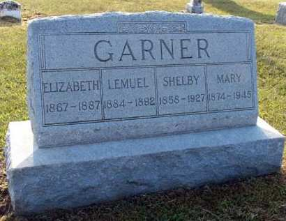 GARNER, SHELBY - Adair County, Iowa | SHELBY GARNER