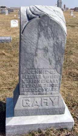 GARY, JENNIE B. - Adair County, Iowa | JENNIE B. GARY