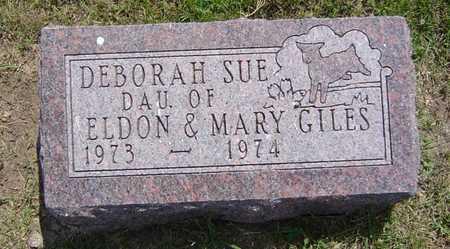GILES, DEBORAH SUE - Adair County, Iowa | DEBORAH SUE GILES