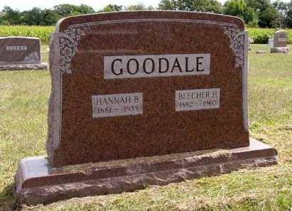 GOODALE, HANNAH B. - Adair County, Iowa | HANNAH B. GOODALE