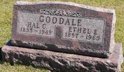 GOODALE, ETHEL E. - Adair County, Iowa | ETHEL E. GOODALE