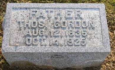 GORDON, THOMAS - Adair County, Iowa   THOMAS GORDON