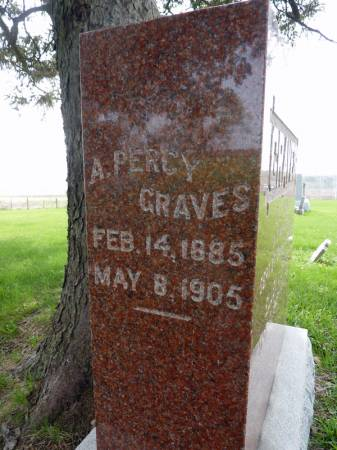 GRAVES, A PERCY - Adair County, Iowa | A PERCY GRAVES