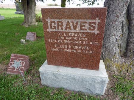 GRAVES, ELLEN K - Adair County, Iowa | ELLEN K GRAVES