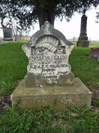 GRAVES, EMELINE CLAIRE - Adair County, Iowa | EMELINE CLAIRE GRAVES
