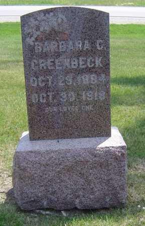 GREENBECK, BARBARA C. - Adair County, Iowa   BARBARA C. GREENBECK