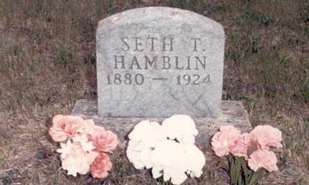 HAMBLIN, SETH THOMAS (TOM) - Adair County, Iowa | SETH THOMAS (TOM) HAMBLIN